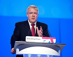 Carwyn Jones during the Labour Party Conference in Manchester, Monday October 1 2012, Photo by Elliott Franks / i-Images