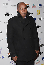 Anthony Hamilton attends Zoom F1 Charity Auction and Reception at The InterContinental Hotel, Park Lane, London on Friday 16 January 2015