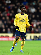 Bukayo Saka (77) of Arsenal during the The FA Cup match between Bournemouth and Arsenal at the Vitality Stadium, Bournemouth, England on 27 January 2020.