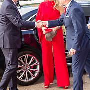 NLD/Amsterdam/20180516 - Koningspaar bij Red Ribbon Concert, Koning Willem Alexander en Koningin Maxima