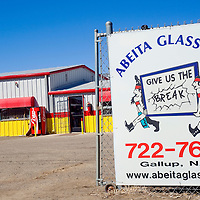 030113       Cable Hoover<br /> <br /> Abeita Glass recently moved to a new location on West Historic Highway 66 in Gallup.