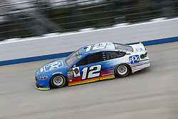 October 5, 2018 - Dover, Delaware, United States of America - Ryan Blaney (12)  takes to the track to practice for the Gander Outdoors 400 at Dover International Speedway in Dover, Delaware. (Credit Image: © Justin R. Noe Asp Inc/ASP via ZUMA Wire)