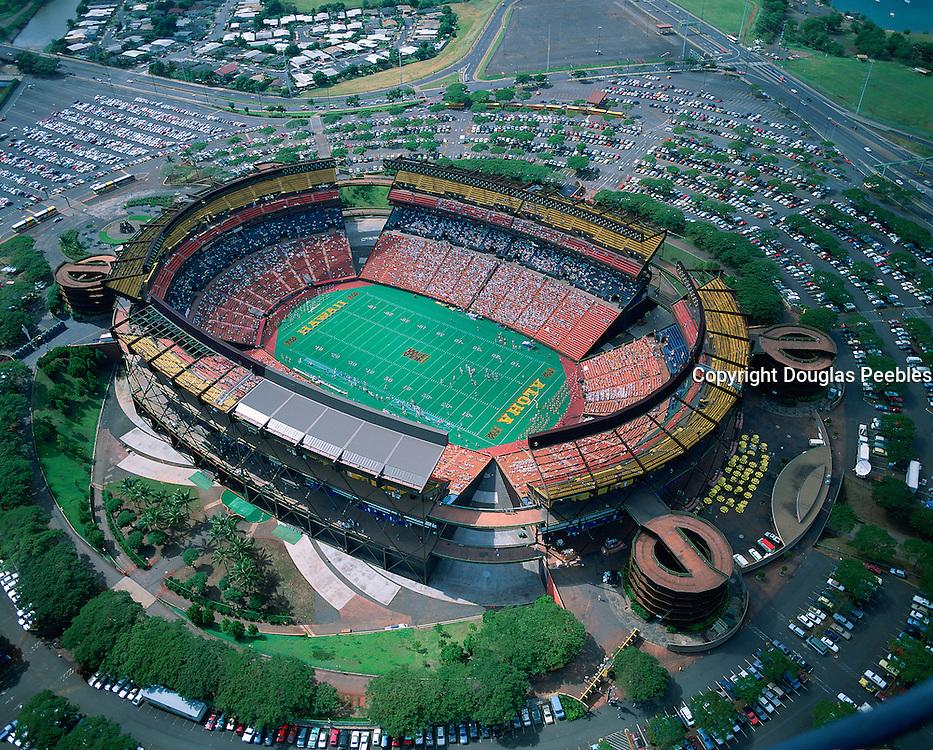 Aloha Stadium, Honolulu, Oahu, Hawaii, USA<br />