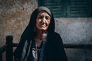 Hajja Atamanny, the oldest Nubian woman in Seheil Island