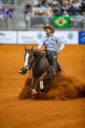 LUDWIG Grischa (GER), Ruf lil Diamond<br /> Tryon - FEI World Equestrian Games™ 2018<br /> Reining Finale Einzelentscheidung<br /> September 2018<br /> © www.sportfotos-lafrentz.de/Stefan Lafrentz