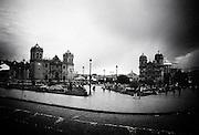 The main square, Plaza de Armas, in Cusco, Peru.