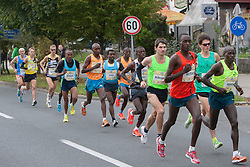 Athletes compete during 18th Ljubljana Marathon 2014 on October 26, 2014 in Ljubljana, Slovenia. Photo by Urban Urbanc / Sportida.com