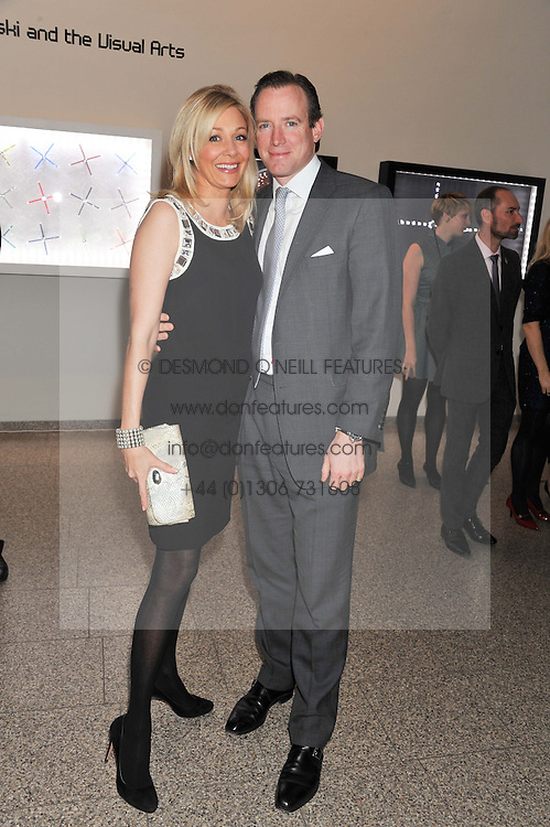 NADJA SWAROVSKI and RUPERT ADAMS at the Swarovski Whitechapel Gallery Art Plus Fashion fundraising gala in support of the gallery's education fund held at The Whitechapel Gallery, 77-82 Whitechapel High Street, London E1 on 14th March 2013