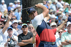 August 9, 2018 - Town And Country, Missouri, U.S - GARY WOODLAND from Topeka Kansas USA  during round one of the 100th PGA Championship on Thursday, August 8, 2018, held at Bellerive Country Club in Town and Country, MO (Photo credit Richard Ulreich / ZUMA Press) (Credit Image: © Richard Ulreich via ZUMA Wire)