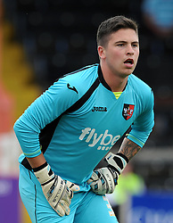 Exeter City's Christy Pym - Photo mandatory by-line: Harry Trump/JMP - Mobile: 07966 386802 - 18/07/15 - SPORT - FOOTBALL - Pre Season Fixture - Exeter City v Bournemouth - St James Park, Exeter, England.
