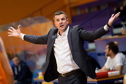 Jovan Beader, head coach of KK Helios Suns during basketball match between KK Helios Suns and KK Sencur in Playoffs of Liga Nova KBM 2017/18, on April 7, 2018 in Domzale, Slovenia. Photo by Urban Urbanc / Sportida