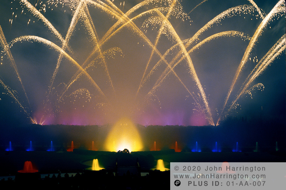 Fouth of July fireworks at Longwood Gardens Pa.