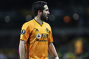 Portrait of Wolverhampton Wanderers midfielder Joao Moutinho in action during the Europa League match between Wolverhampton Wanderers and Espanyol at Molineux, Wolverhampton, England on 20 February 2020.