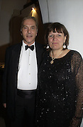 Howard flight M.P and his wife Cristabel. The Leader's Dinner ( Michael Howard's ) Banqueting House. Whitehall. London.  November 2005. ONE TIME USE ONLY - DO NOT ARCHIVE  © Copyright Photograph by Dafydd Jones 66 Stockwell Park Rd. London SW9 0DA Tel 020 7733 0108 www.dafjones.com