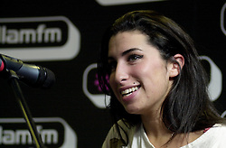 Amy Winehouse performs an Intimate set at Sheffields Hallam FM Local Radio Station<br />