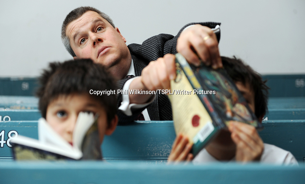 Daniel Handler - author of the Lemony Snicket.  Photographed  at the Queens Hall in Edinburgh reading to children and book signing copies of the books.<br /> <br /> copyright Phil Wilkinson/TSPL/Writer Pictures<br /> contact +44 (0)20 822 41564 <br /> info@writerpictures.com <br /> www.writerpictures.com