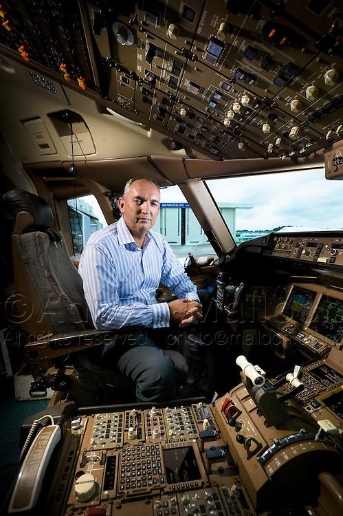 Captain David Morgan, Air New Zealand's Chief Pilot, and Chief Flight Operations and Safety officer.