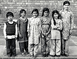 Children, Hyson Green, Nottingham UK 1981