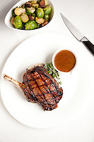 The Dry Aged Rib-Eye Steak at the Kelly English Steahouse at Harrah's Casino in Maryland Heights, MO.