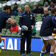 Dublin0 10/02/2018 Aviva Stadium<br /> Natwest 6 nations 2018<br /> Irlanda v Italia<br /> Conor O&rsquo;Shea