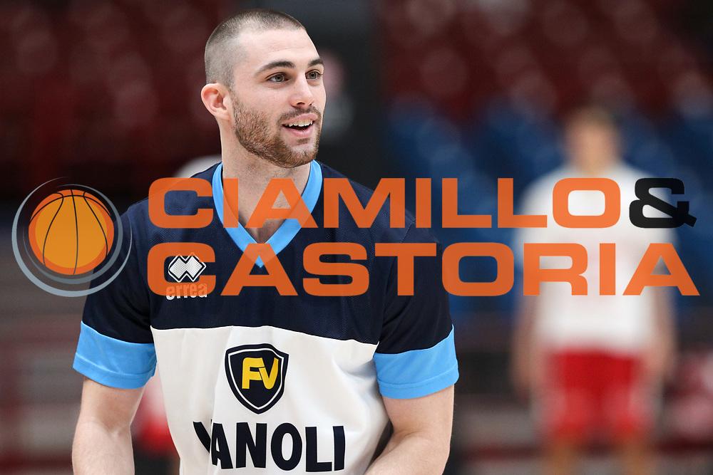 Carlino Matt, EA7 Emporio Armani Milano vs Vanoli Cremona LBA Serie A 8^ giornata di ritorno stagione 2016/2017 Mediolanum Forum Assago, Milano 19/03/2017