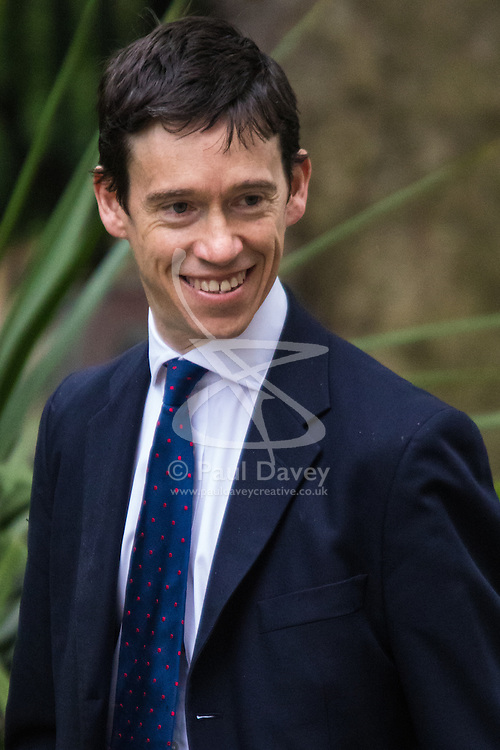 Downing Street, London, May 12th 2015. The all-conservatives Cabinet ministers gather for their first official meeting at Downing Street. PICTURED: Parliamentary Under Secretary of State<br /> Rory Stewart