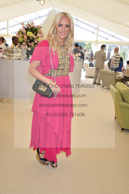 KAREN CRAIG at the St.Regis International Polo Cup at Cowdray Park, Midhurst, West Sussex on 16th May 2015.