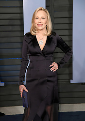 Faye Dunaway arriving at the Vanity Fair Oscar Party held in Beverly Hills, Los Angeles, USA.