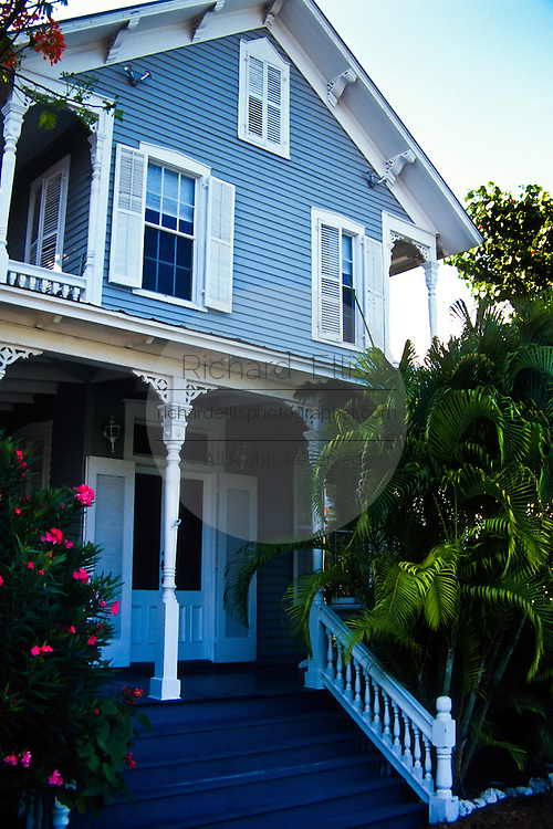 A Caribbean style home in Key West, Florida.