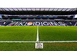 A general view of the Stadium MK, home to Milton Keynes Dons - Mandatory by-line: Ryan Crockett/JMP - 04/05/2019 - FOOTBALL - Stadium MK - Milton Keynes, England - Milton Keynes Dons v Mansfield Town - Sky Bet League One