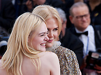 Elle Fanning and Nicole Kidman at the How To Talk To Girls At Parties gala screening at the 70th Cannes Film Festival Sunday 21st May 2017, Cannes, France. Photo credit: Doreen Kennedy