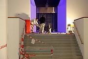 Mannheim. 08.11.17 | Zum Neubau Kunsthalle<br /> Innenstadt. Kunsthalle. Pressegespräch zum Neubau der Neuen Kunsthalle. Die Eröffnung der Neuen Kunsthalle im Dezember nur mit Skulpturen - keine Gemälde wegen technischen Verzögerungen.<br /> <br /> <br /> <br /> <br /> BILD- ID 01544 |<br /> Bild: Markus Prosswitz 08NOV17 / masterpress (Bild ist honorarpflichtig - No Model Release!)