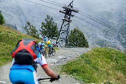 13-09-2017 FRA: BvdGF Tour du Mont Blanc day 4, Trient<br /> Van Chamonix naar Trient. <br /> Bergen, wolken, landschap, sneeuw, natuur, fietsen