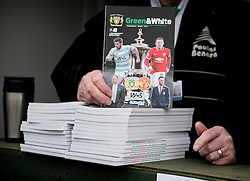 Programmes sold  - Photo mandatory by-line: Joe meredith/JMP - Mobile: 07966 386802 - 04/01/2015 - SPORT - football - Yeovil - Huish Park - Yeovil Town v Manchester United - FA Cup - Third Round