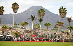 Bristol City fans watch the match pitch side - Mandatory by-line: Matt McNulty/JMP - 22/07/2017 - FOOTBALL - Tenerife Top Training - Costa Adeje, Tenerife - Bristol City v Atletico Union Guimar  - Pre-Season Friendly