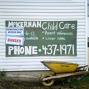 Canada, Edmonton. May/24/2013. McKernan Community League building renovation project. Demolition and excavation in progress.