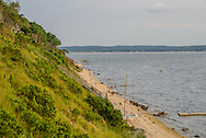 Noyack Bay, View from 26 On the Bluff, Sag Harbor, Long Island, New York