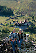 Barretts at home and vineyard in Calistoga, CA. GE-Monogram Advertising Campaign