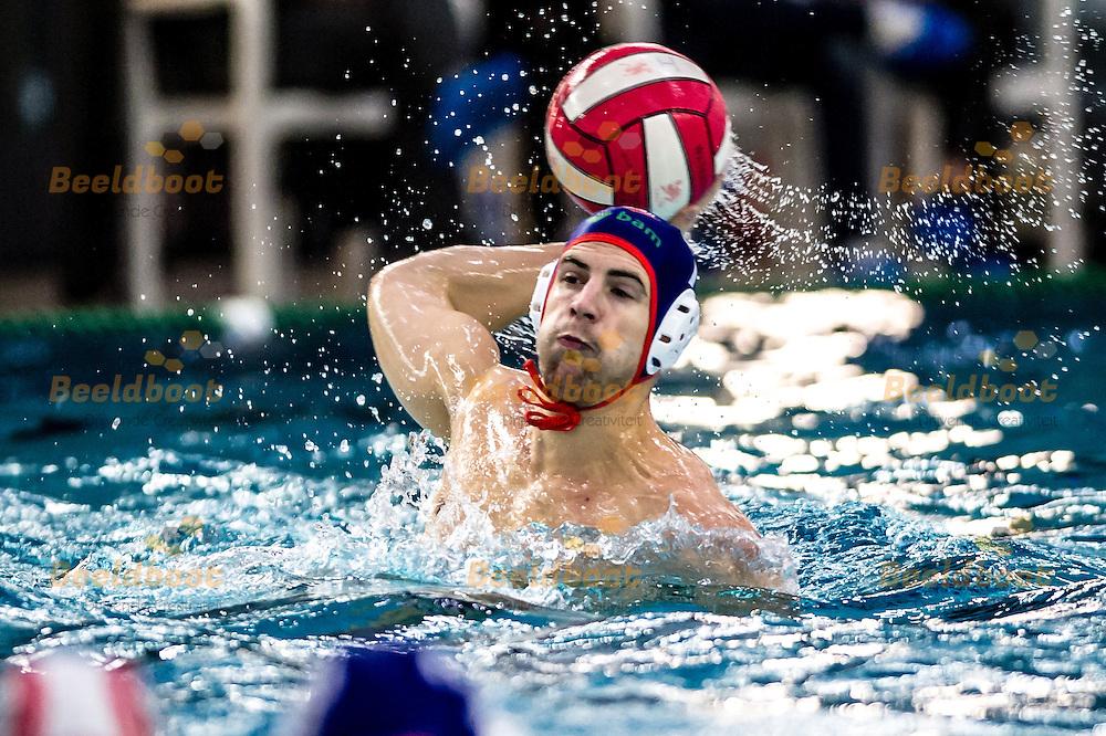Waterpolo Utrecht Heren Eredivisie 2014-2015 UZSC - De Zijl Zwemsport: Ronald van der Tang van De Zijl