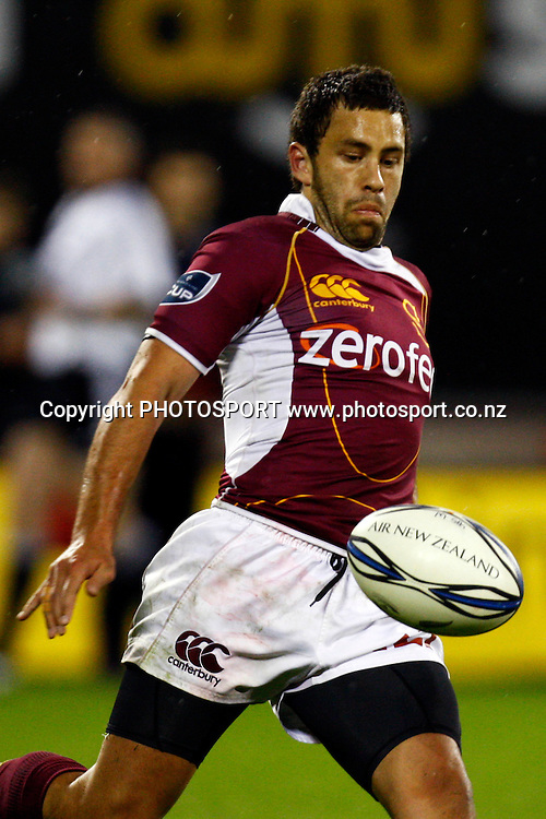 Southland fullback Glen Horton in action, Air NZ Cup, NPC rugby union. Canterbury v Southland, Ranfurly Shield Match. Ami Stadium, Christchurch. Thursday 22 October 2009. Photo: William Booth/PHOTOSPORT