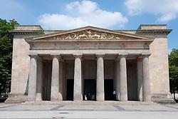 Exterior of  of Neue Wache war memorial in Mitte Berlin Germany