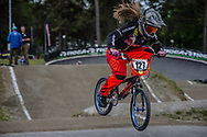 #127 (ESCOBAR YEPES Andrea) COL during round 3 of the 2017 UCI BMX  Supercross World Cup in Zolder, Belgium,