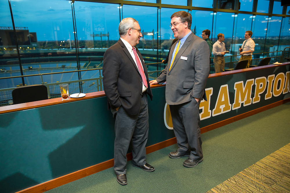MCW reception at Lambeau Field on Friday Oct 9, 2015 . Photo by Mike Roemer