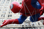 26 November 2009, NY, NY- Spider-Man at The 2009 Macy's Day Parade held on November 26, 2009 in New York City. Terrence Jennings/Sipa