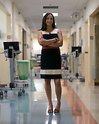 Anesthesiologist Sonia Pyne at the University of Rochester Medical Center's Sawgrass Surgery Center in Brighton on Wednesday, June 10, 2015.