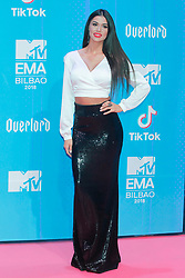 Ioanna Bella attend the MTV Europe Music Awards held at the Bilbao Exhibition Centre, Spain on November 4, 2018. Photo by Archie Andrews/ABACAPRESS.COM
