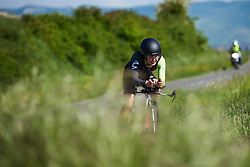 Omer Shapira (ISR) at Emakumeen Bira 2018 - Stage 2, a 26.6 km time trial from Agurain to Gasteiz, Spain on May 20, 2018. Photo by Sean Robinson/Velofocus.com