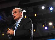 Former New York City Mayor, Rudy Giuliani, speaks in San Francisco, August 2006, Hasain Rasheed Photography.