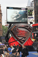 Man of Steel European Film Premiere, Leicester Square London UK, 12 June 2013, (Photo by Richard Goldschmidt)