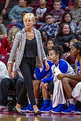 NORMAL, IL - December 20: Lisa Stone during a college women's basketball game between the ISU Redbirds and the St. Louis Billikens on December 20 2018 at Redbird Arena in Normal, IL. (Photo by Alan Look)